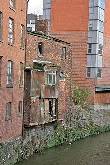 Slum dwelling Manchester